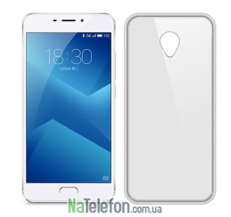 Чехол Ultra Thin Silicone Remax 0.2 mm для Meizu M5 White