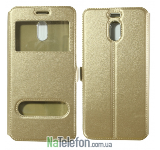 Чехол-книжка U-Like Simple Meizu M6 Note Gold