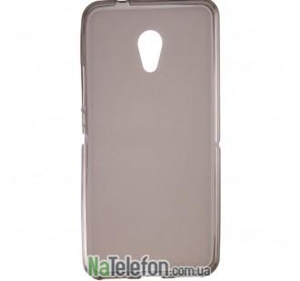 Ультра тонкий силиконовый чехол 0.3 mm для Meizu M5c black