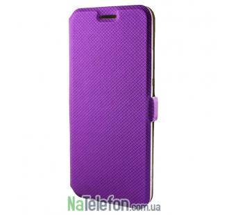 Чехол книга для Meizu U20 Modern Style (без окна) фиолетовая
