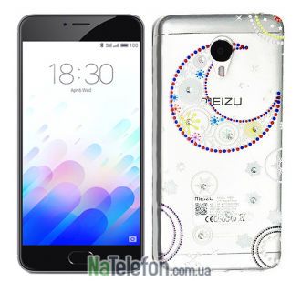 Чехол Lucent Diamond Case для Meizu M3 Note La Luna