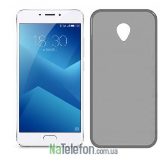 Чехол Ultra Thin Silicone Remax 0.2 mm для Meizu M5 Note Black