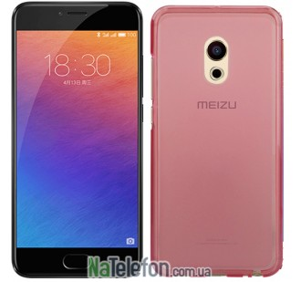 Чехол Original Silicone Case для Meizu Pro 6 Pink