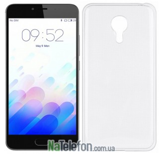 Чехол Original Silicone Case для Meizu M3 Note White