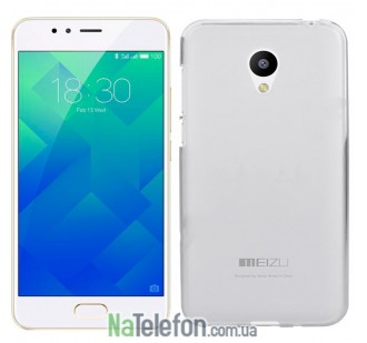 Чехол Original Silicone Case для Meizu M5s White