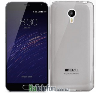 Чехол Original Silicone Case для Meizu M2 Note Black