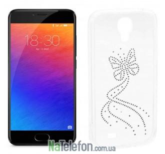 Чехол Silicone DIAMOND для Meizu M5 Butterfly