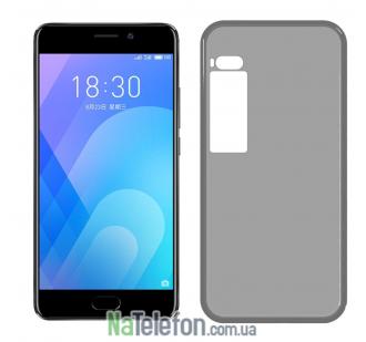 Ультра тонкий силиконовый чехол 0.3 mm для Meizu Pro 7 White