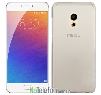 Чехол Ultra Thin Silicone Remax 0.2 mm для Meizu Pro 6 White