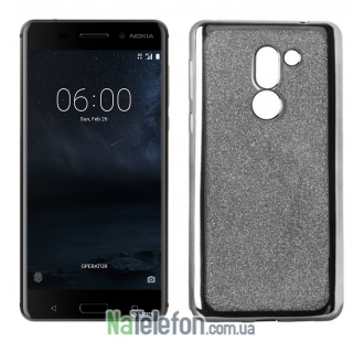 Чехол Remax Glitter Air Series для Nokia 6 черный