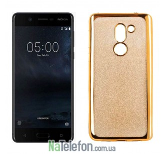 Чехол Remax Glitter Air Series для Nokia 5 Gold