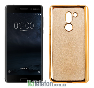 Чехол Remax Glitter Air Series для Nokia 6 Gold