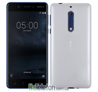Чехол Original Silicone Case для Nokia 5 White