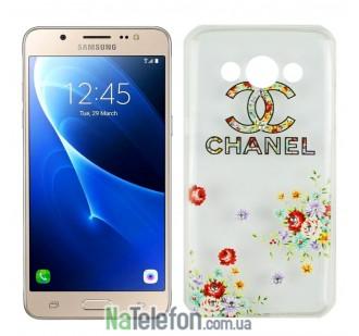 Чехол Lucent Diamond для Samsung J710 (J7-2016) Chanel