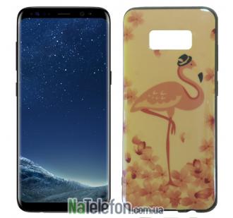 Чехол U-Like Picture series для Samsung G955 Galaxy S8 Plus Flamingo