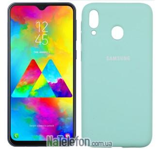 Чехол Original Soft Case для Samsung M205 Galaxy M20 Бирюза