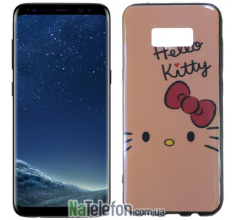 Чехол U-Like Picture series для Samsung G955 Galaxy S8 Plus Hello Kitty