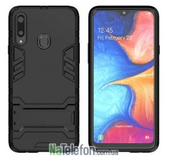 Ударопрочный чехол HONOR для Samsung A207 Galaxy A20s 2019 Black