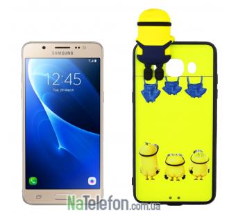 Чехол Cartoon Silicone Case для Samsung J5 J510 2016 Minion