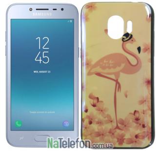 Чехол U-Like Picture series для Samsung J250 (J2 2018) Flamingo