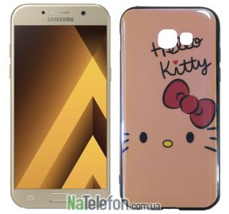 Чехол U-Like Picture series для Samsung A520 (A5 2017) Hello Kitty