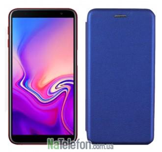 Чехол книжка U-Like Best для Samsung Galaxy J6 2018 Cyan