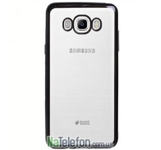 Чехол Electroplating TPU для Samsung J710 (J7 2016) black