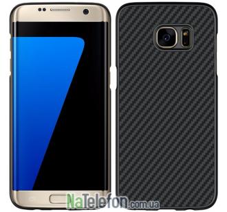 Чехол NILLKIN Synthetic Fiber Series для Samsung G930 Galaxy S7 Black