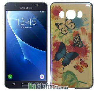 Чехол U-Like Picture series для Samsung J510 (J5 2016) Butterfly