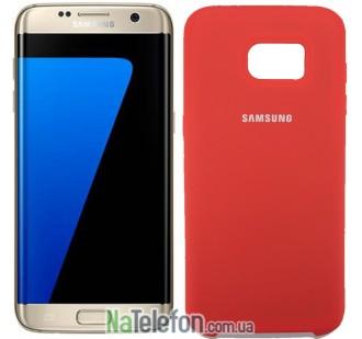 Чехол Original Soft Case для Samsung G930 Galaxy S7 Красный