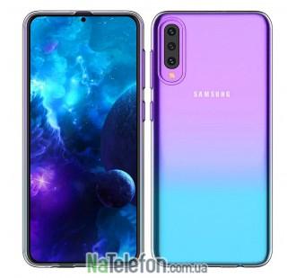 Ультра тонкий силиконовый чехол 0.3 mm для Samsung A505 Galaxy A50 2019 White
