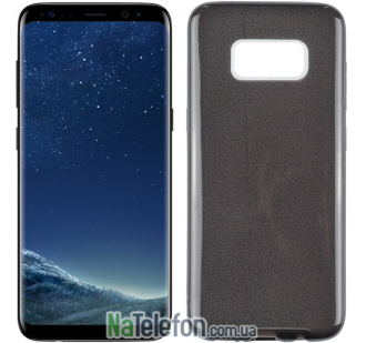 Силиконовый чехол Silicone 3in1 Блёстки для Samsung G950 Galaxy S8 Black