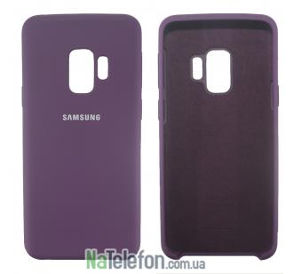 Чехол Original Soft Case для Samsung G960 Galaxy S9 Фиолетовый