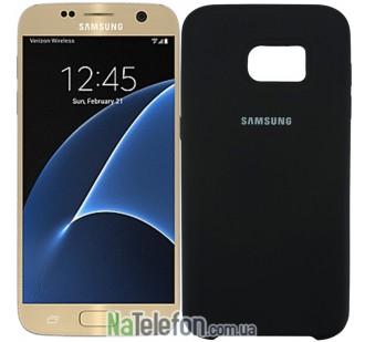Чехол Original Soft Case для Samsung G930 Galaxy S7 Чёрный
