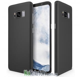 Ультра тонкий силиконовый чехол 0.3 mm для Samsung G950 Galaxy S8 Black