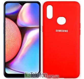 Чехол Original Soft Case для Samsung A10s 2019 Красный FULL