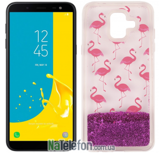Чехол U-Like Aqua для Samsung J600 Flamingo