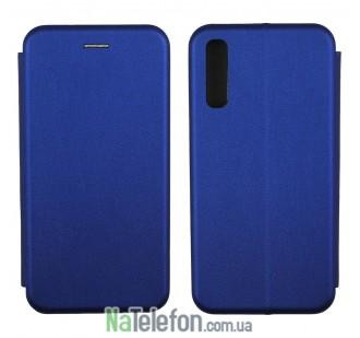 Чехол книжка U-Like Best для Samsung A505 Galaxy A50 2019 Blue