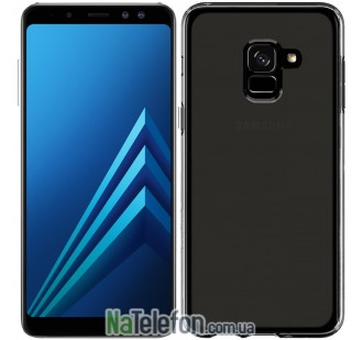 Чехол Original Silicone Case для Samsung A530 (A8-2018) Black