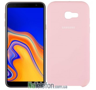 Чехол Original Soft Case для Samsung J4 Plus 2018 (J415) Розовый