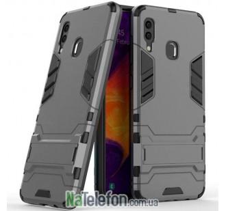 Чехол HONOR Hard Defence Series для Samsung A305 Galaxy A30 2019 Серый