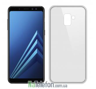 Чехол Ultra-thin 0.3 для Samsung A730 Galaxy A8 Plus 2018 White