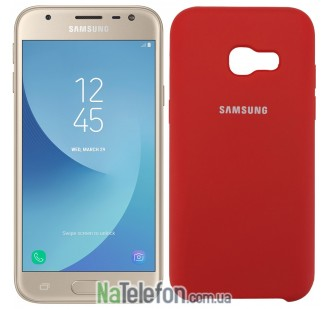 Чехол Original Soft Case для Samsung A320 (A3-2017) Красный