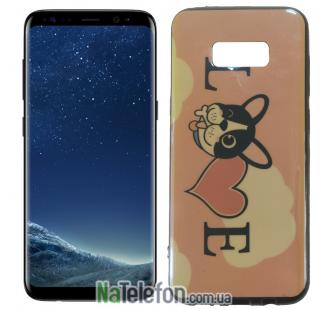 Чехол U-Like Picture series для Samsung G950 Galaxy S8 Love Pink
