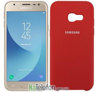 Чехол Original Soft Case для Samsung A720 (A7-2017) Красный