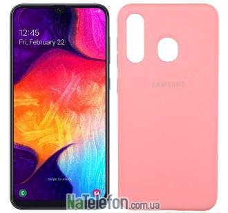 Чехол Original Soft Case для Samsung A30 2019 Розовый FULL