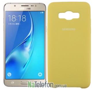 Чехол Original Soft Case для Samsung J510 (J5-2016) Золотой
