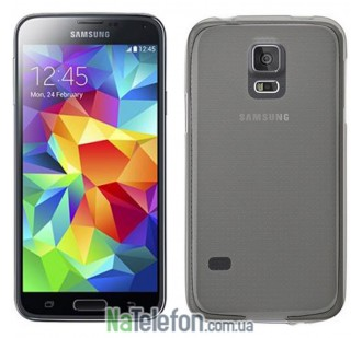 Чехол Original Silicone Case для Samsung G900 Galaxy S5 Black