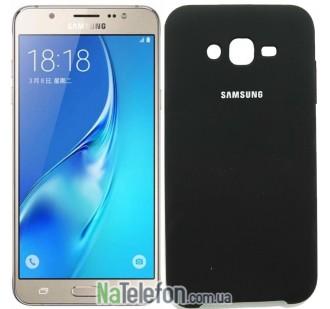 Чехол Original Soft Case для Samsung J700 (J7) Чёрный