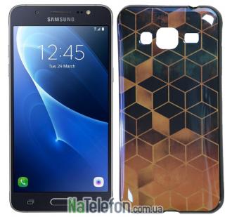 Чехол U-Like Picture series для Samsung J300/J320 Cube